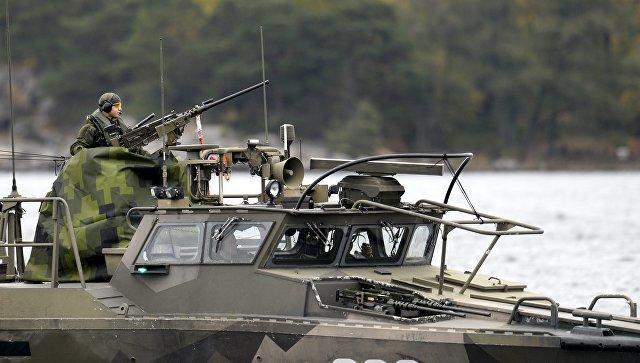 Швеция может ввести войска в Донбасс