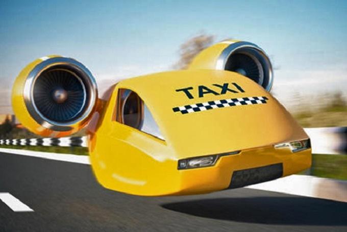 Летающие такси станут популярны через 5-10 лет
