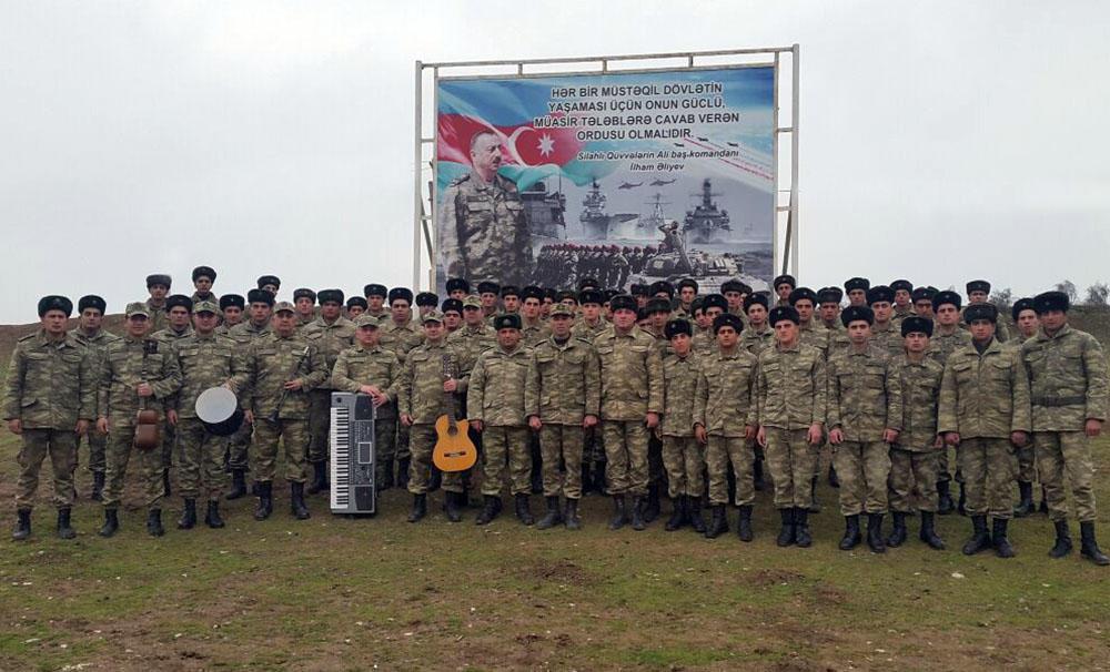 В армии прошли мероприятия посвященные 15 июня