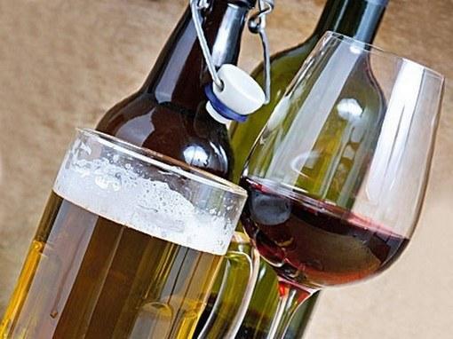 Вино и пиво продлевают жизнь
