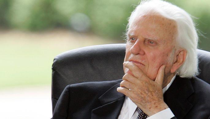 Умер духовный советник американских президентов