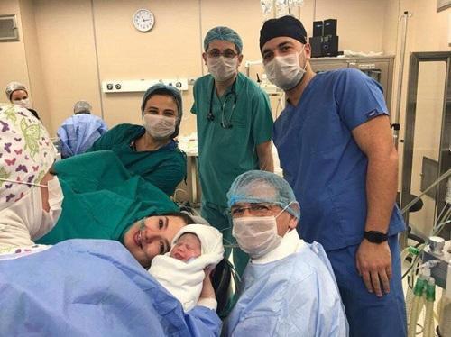 Мадат Гулиев стал отцом