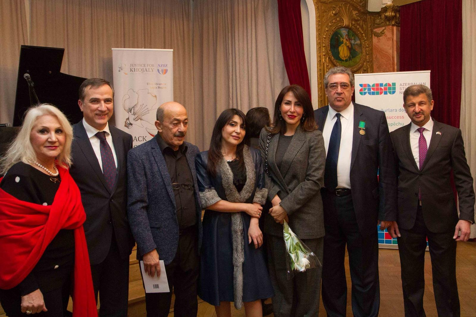 Вечер памяти Ходжалинской трагедии прошел в Чехии