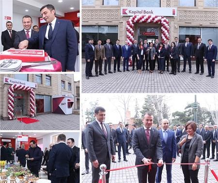 """""""Kapital Bank"""" yeni filialını istifadəyə verdi"""