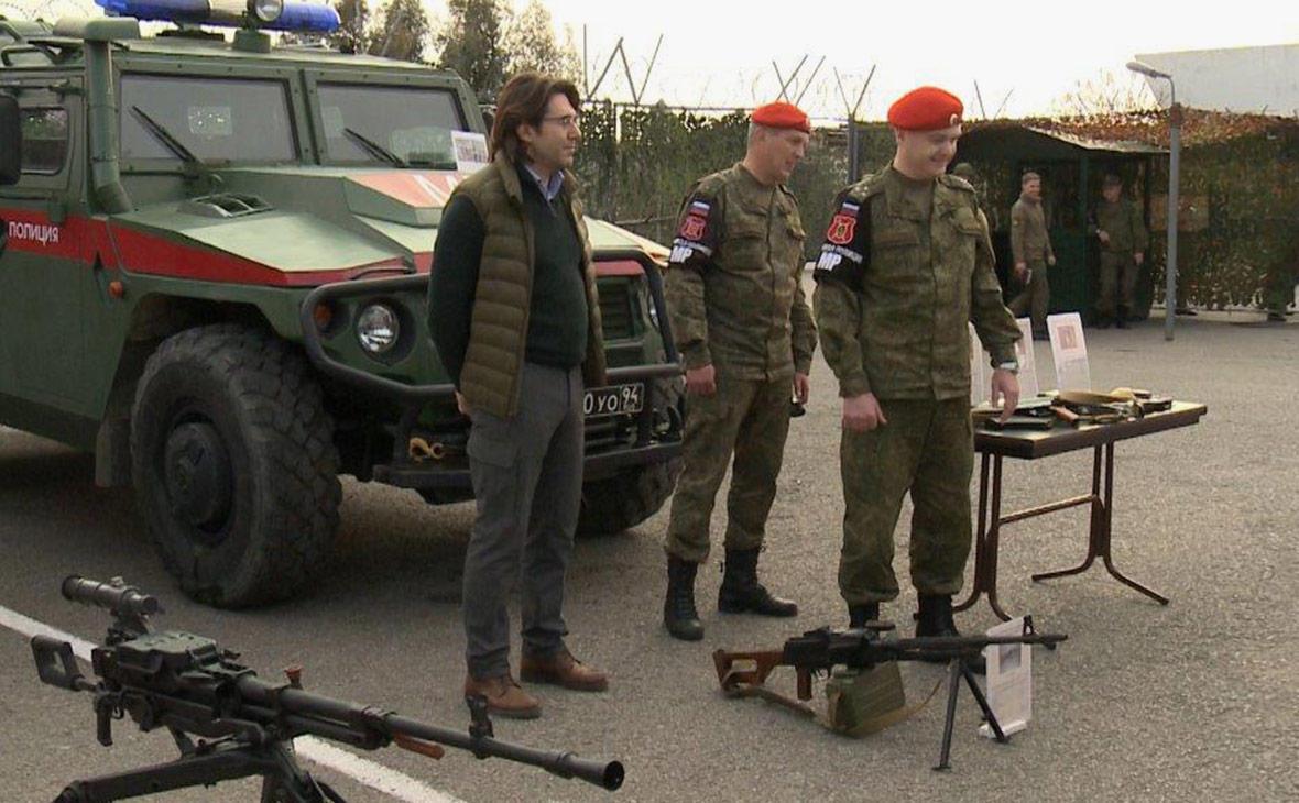 Малахов снял выпуск «Прямого эфира» в Сирии