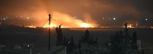 Türk ordusu Əsəd qüvvələrini bombaladı: texnika məhv edildi