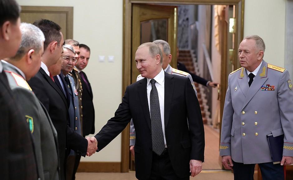 Закир Гасанов на встрече с Владимиром Путиным - Фото