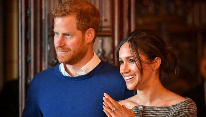 Принц Гарри и Меган получили конверт с белым порошком