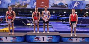 Azərbaycan gimnastından Rusiyada böyük uğur