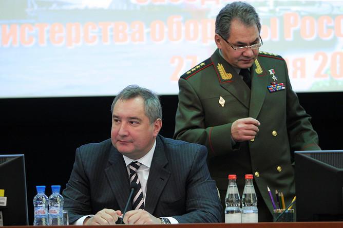 Шойгу сменит Рогозина