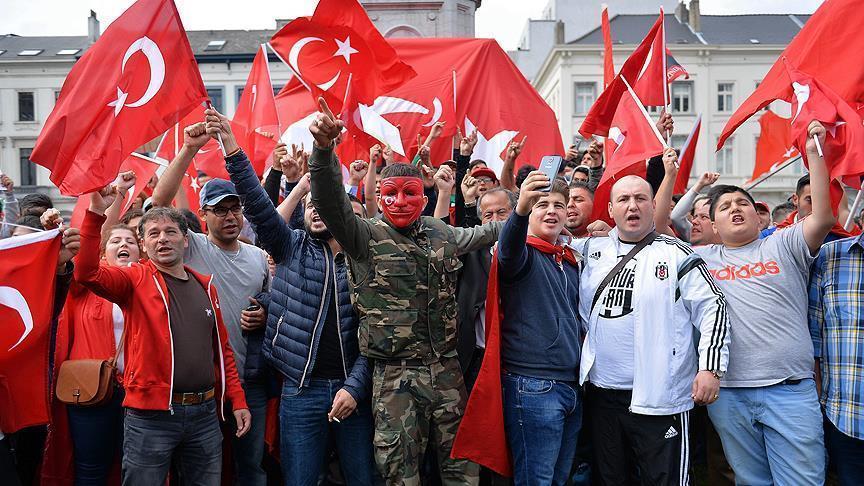 В Брюсселе пройдет митинг в поддержку Турции