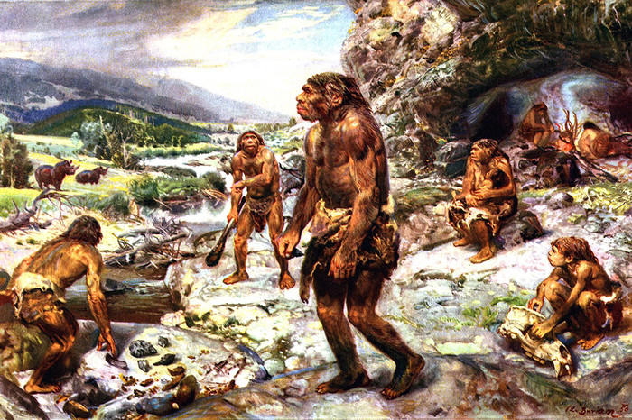 Неандертальцев назвали первыми художниками