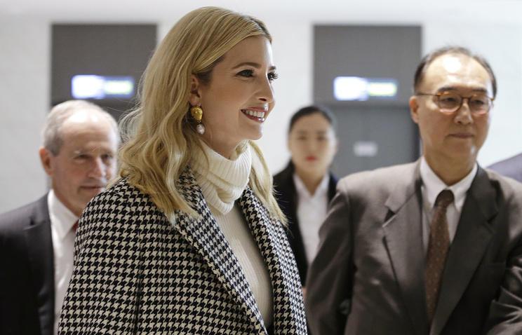 Иванка встретилась с президентом Южной Кореи