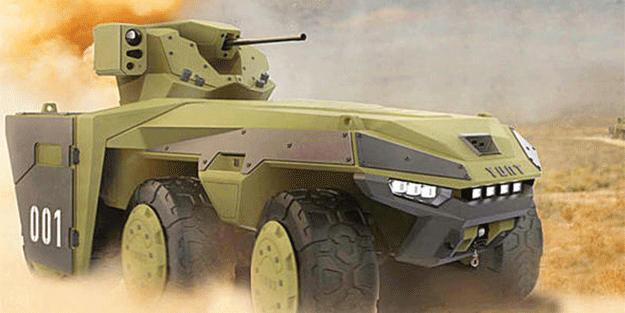 Türkiyə pilotsuz tank hazırlayır
