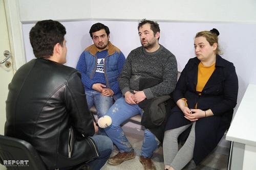 Bakıda ad günündə qonşular arasında dava: 20 nəfər… - Foto