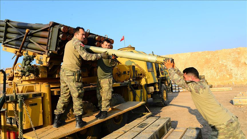 Турция уничтожает террористов отечественными ракетами