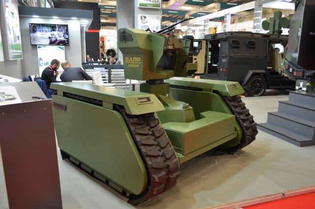 Турция применит в Африне наземные беспилотники