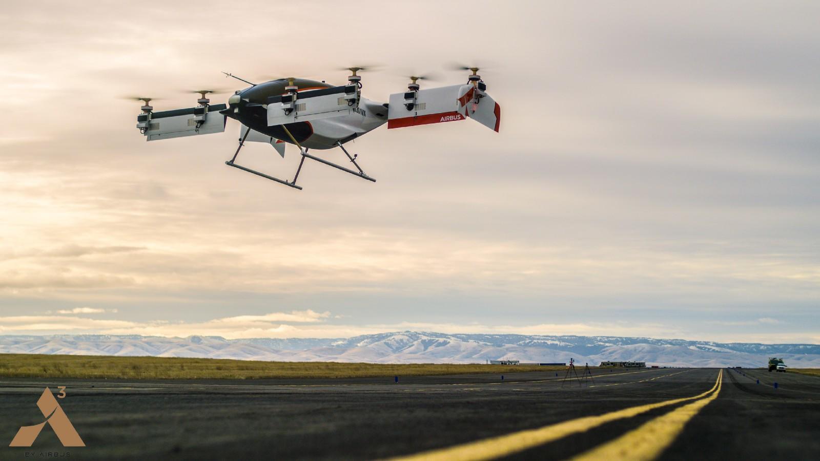 Первое в мире летающее такси - Видео