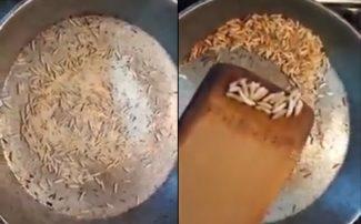 Diqqət: Bakıda plastik düyü satılır - Video