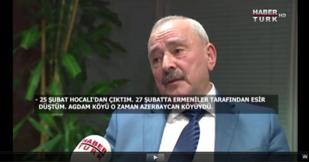 """Xocalı həqiqətləri """"Habertürk"""" kanalında - Foto"""
