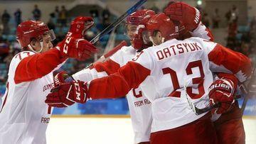 Русские хоккеисты забрали олимпийское золото