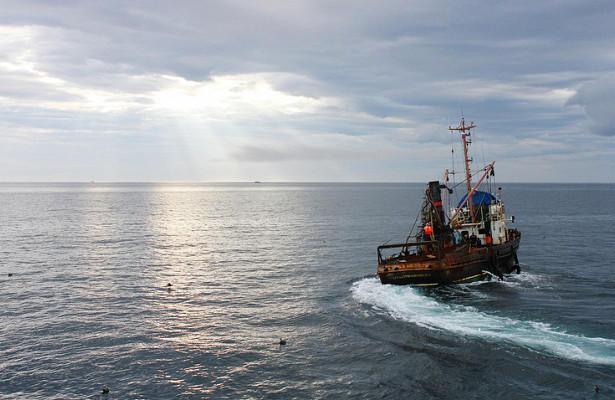 Грузия задержала судно под российским флагом