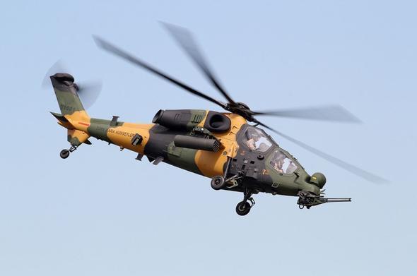 Türkiyə ordusu helikopterləri havaya qaldırdı -