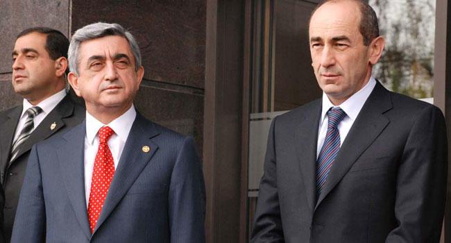 Serj Sarkisyan met with Robert Kocharyan