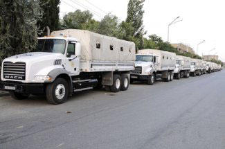 Russia sent another humanitarian aid to Armenians