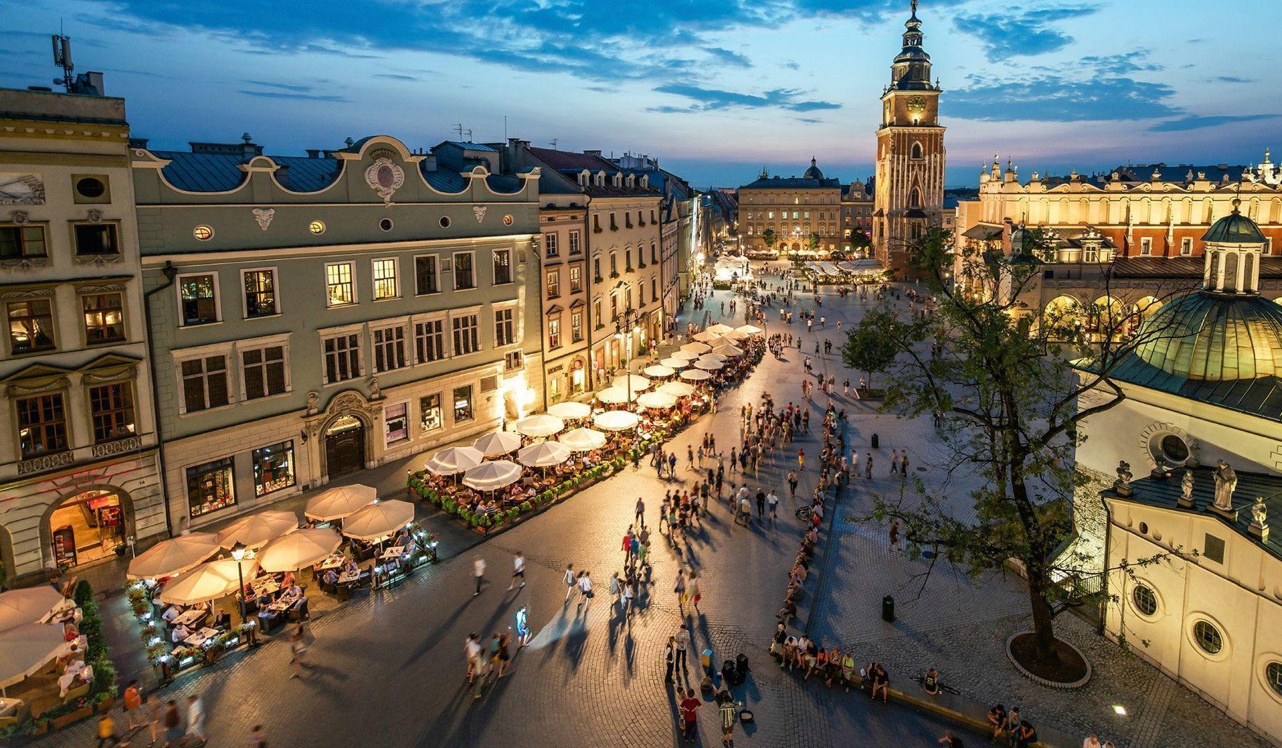 Сильное землетрясение в Польше