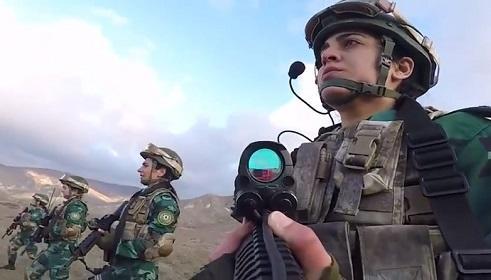 Qarabağ qazisinin bu hərəkəti hər kəsi kövrəltdi - Video