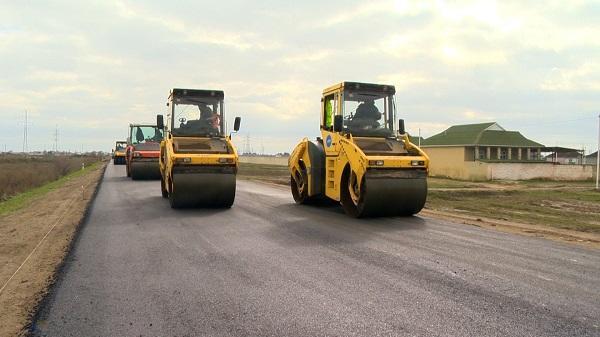 Mərdəkan-Qala avtomobil yolu bərpa olunur