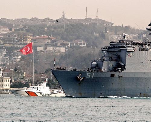 Турция создаёт военную базу на Черном море