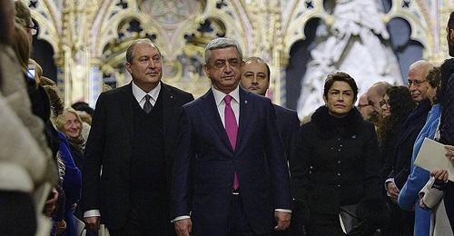 Paşinyandan sonra Sərkisyan da Fransaya getdi