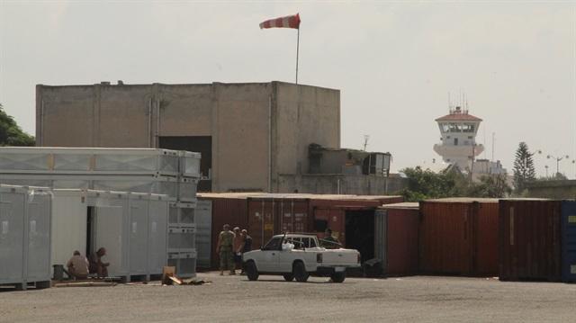 Suriyadakı rus bazasına hücum edildi