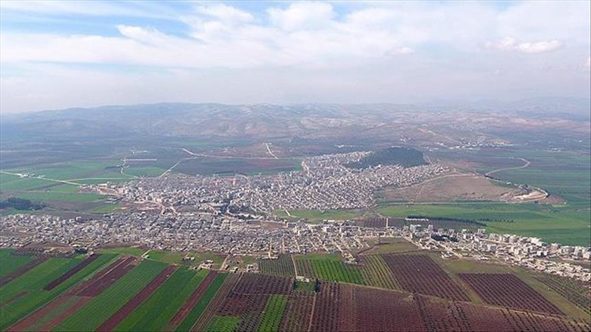 Turkey-backed FSA forces start entering Afrin town center