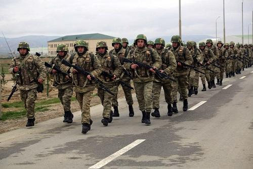 Azerbaijani servicemen left for Moscow