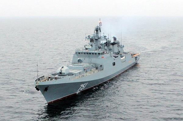 Russian military flotilla arrives in Cuba on courtesy visit