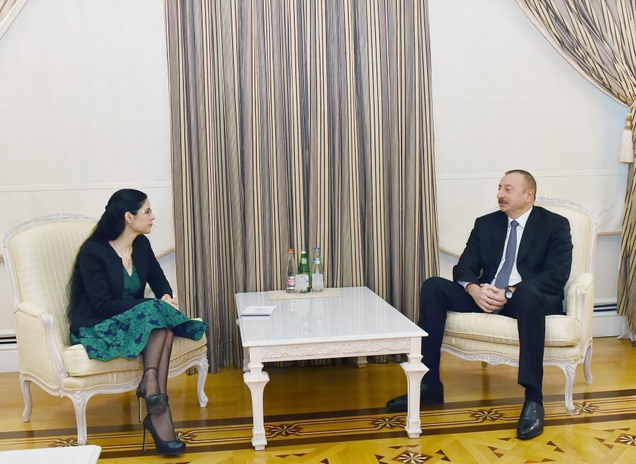 Ильхам Алиев принял вице-премьера Румынии