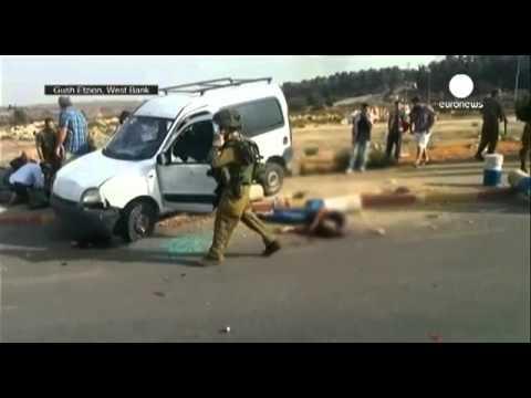 Автомобиль въехал в толпу на Западном берегу Иордана
