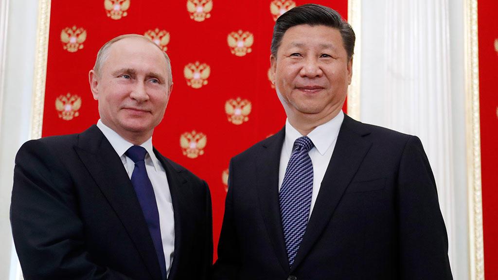 Putin congratulates Xi Jinping