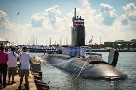 США приняли на вооружение подлодку класса Virginia