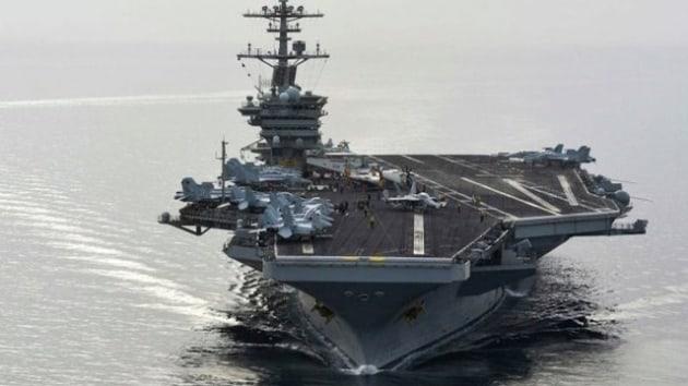 ABŞ hərbi gəmisi Batumi limanında - Foto