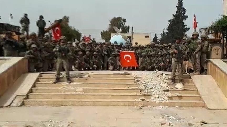 Турецкий спецназ принес в Африне клятву верности Родине