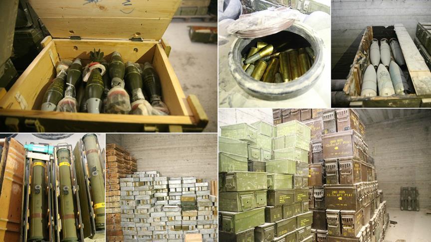 В Африне нашли большой подземный склад YPG/PKK