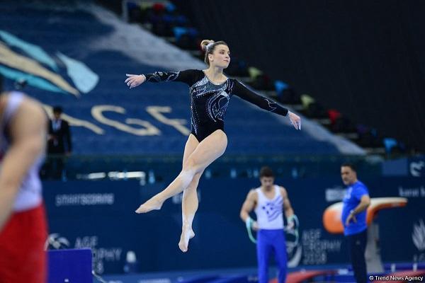 Gimnastlarımız Avropa çempionatında ilk medalını qazandı
