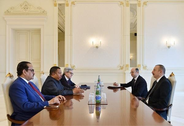 Ilham Aliyev receives Secretary General of the OPEC