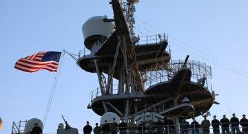 Военный корабль США вошел в Батумский порт