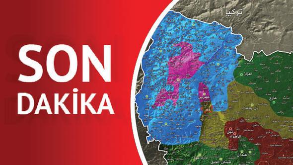 Türk ordusu 29 kəndi bir anda aldı - Xəritə dəyişdi