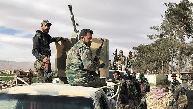 Вертолеты США эвакуировали главарей ИГ с Сирии